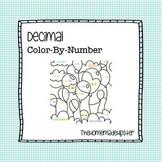 Decimal Coloring Page