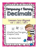 Decimal Games & Practice {Common Core Aligned}