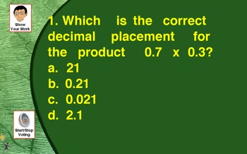 Decimal Comparing, Operations with Multiplication and Division
