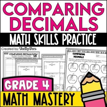 Comparing Decimals Worksheets