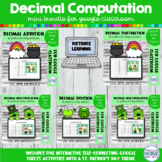 Decimal Computation BUNDLE | St Patricks