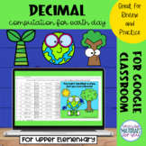 Decimal Computation   Earth Day Mystery Picture