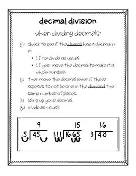 Decimal Computation Notes