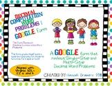 Decimal Computation Word Problems Practice 1 Google Form