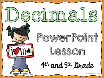Decimals PowerPoint Lesson (Models, Reading and Writing, C