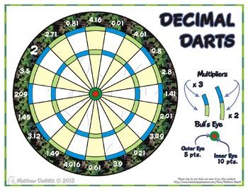 Decimal Darts