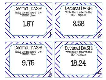 Decimal Dash: Scoot Game