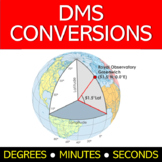 Decimal Degree (DD) and Degree, Minutes, Seconds (DMS) Con