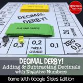 Decimal Derby! Adding/Subtracting Decimals Board Game (Negative Number Edition)
