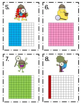 Decimal Detective Monsters- Reading and Writing Decimals/Fractions