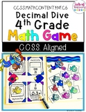 Decimal Dive Grade 4 Math Game CCSS