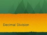 Decimal Division