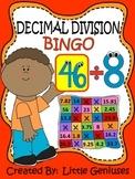 Division With Decimals Bingo