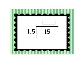 Decimal Division Computation Digital Boom Card Deck - Set 2 (Open Ended)