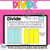 Decimal Division Google™ Slides and Sheets