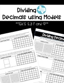 Decimal Division Models (TEKS 5.3 F and G)