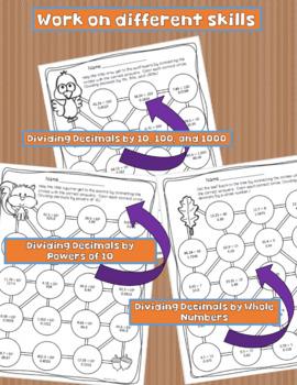 Decimal Division Review Puzzles
