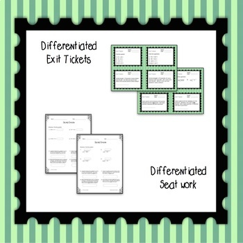 Decimal Division Differentiated Word Problem Task Cards