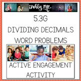 Decimal Division Word Problems
