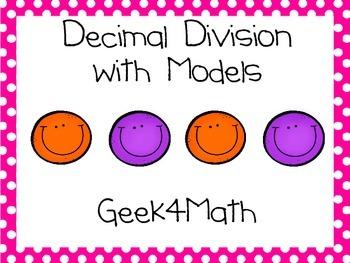 Decimal Division using Models