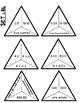 Decimal Equivalent Match Triangle Puzzles