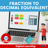Decimal Equivalent of Fractions- 3rd grade, Year 4, key stage 2