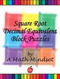 Decimal Equivalent of Square Root Puzzle