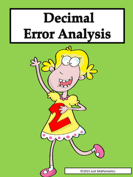 Decimal Error Analysis