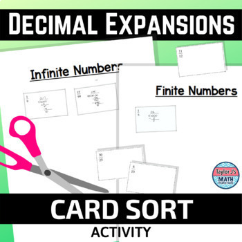 Decimal Expansions Activity