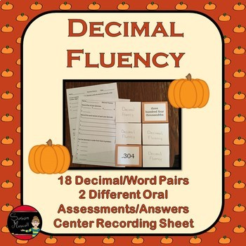Decimal Fluency Ordering and Rounding 5.NBT.3-4
