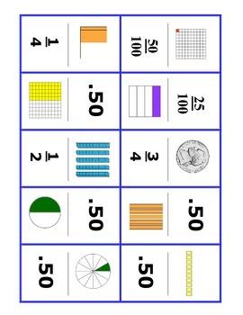 Decimal-Fraction Dominoes