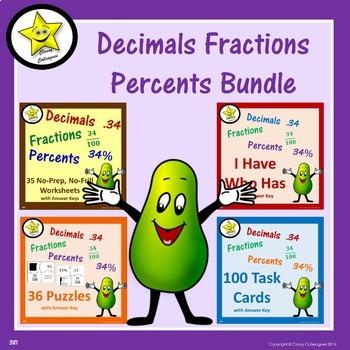 Decimal Fraction Percent Bundle