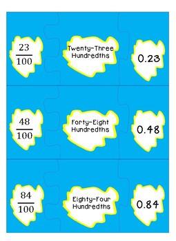 Decimal/Fraction Puzzles