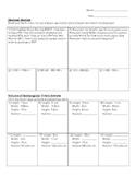 Decimal, Fraction and Rectangular Prism review worksheet