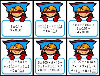 Decimals Activities: 10 Decimals Games (Standard Form, Word Form, Expanded Form)