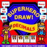 5th Grade Decimal Games: Decimal Place Value Cards {5.NBT.3}