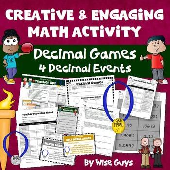Decimal Games: Four Creative Events