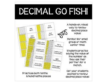Decimal Go Fish!
