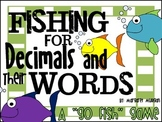 Decimal Go Fish - Reading Decimals as Numbers and Words