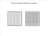 Decimal Grids (Tenths and Hundredths)