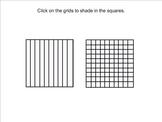 Decimal Grids (Tenths and Hundredths)