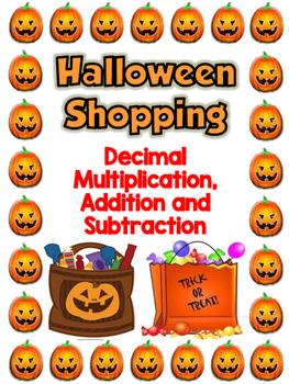 Decimal Halloween Shopping FREEBIE