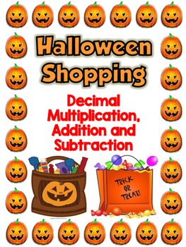 Decimal Halloween Shopping FREEBIE