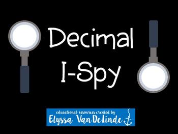 Decimal I Spy