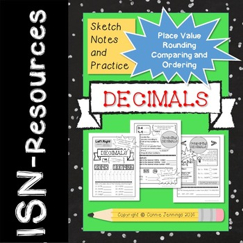 Decimal ISN Sketch Notes and Practice