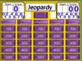 Decimal Jeopardy
