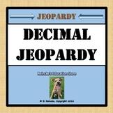 Decimal Jeopardy (Adding, Subtracting, Multiplying, Dividi