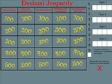 Decimal Jeopardy - Smartboard