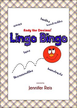 Decimal Lingo Bingo: Learning Decimal Place Value