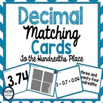 Decimal Matching Cards